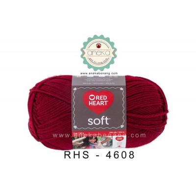 Red Heart Soft #4608 (Wine)